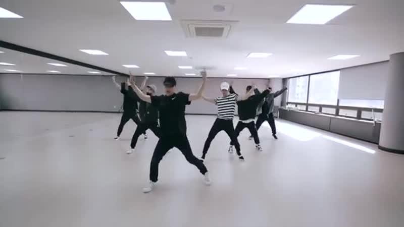 СпА | Ten Taeyong (NCT) Baby Don't Stop Dance Practice