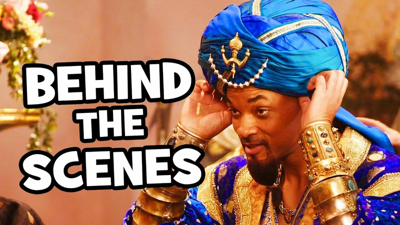 Behind The Scenes on ALADDIN - Songs, Clips Bloopers