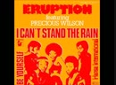 Eruption Featuring Precious Wilson - I Cant Stand The Rain, Against My Window Oh (12 Inch. Extended The Remix By DJ Nilsson Ve