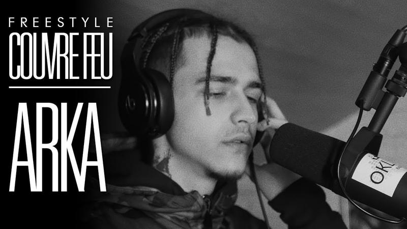 ARKA - Freestyle COUVRE FEU sur OKLM Radio {OKLM TV}