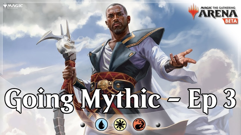 Going for Mythic Ep 3 Jeskai Control MTG Arena Bo1 Competitive Constructed Gameplay