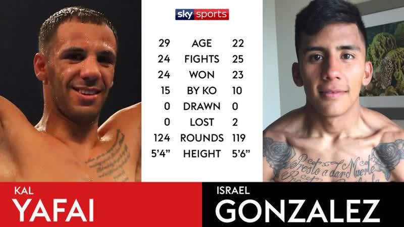 Халид Яфай - Израэль Гонсалес / Khalid Yafai vs Israel Gonzalez