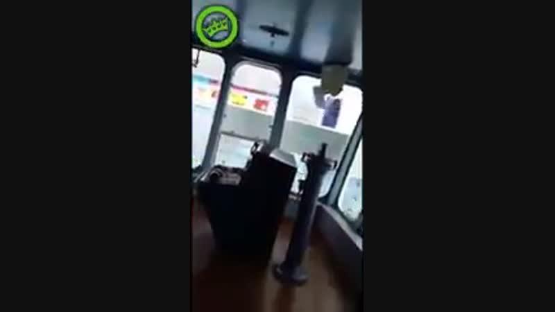 C N N( mass-media video)📹 - Столкновение судов Ship collision