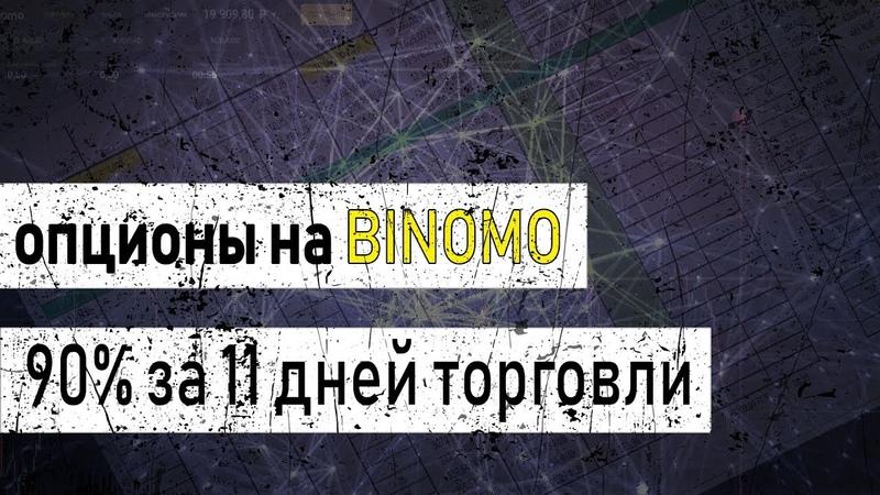 90% за 11 торговых дней | 10.000 в кассе | Как зарабатывать по 1000 рублей в день на опционах