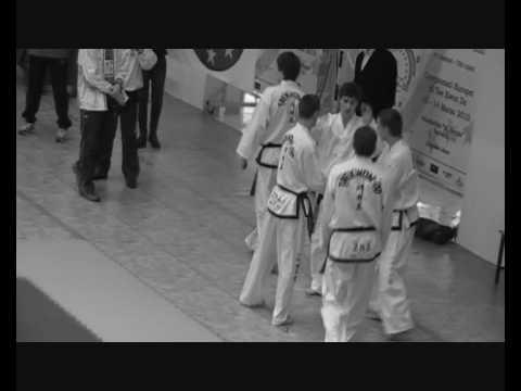 European Championship Taekwon do 2010 Italy Barletta wmv