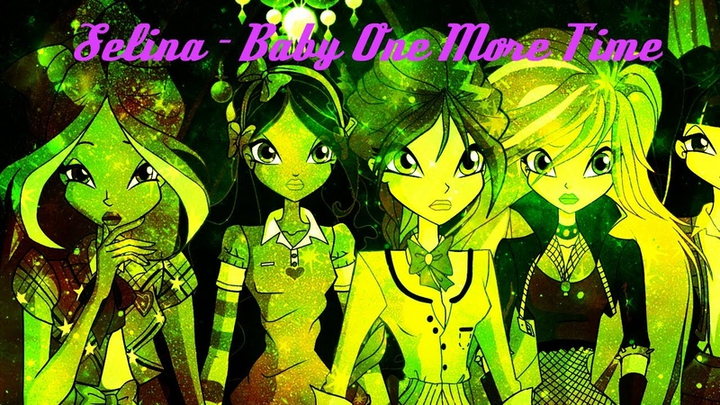 Selina - Baby One More Time (Yellow-green subject)