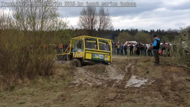 Truck Trial Compilation 2015 the long video__Tatra 815 8x8-DAF 8X8-Mercedes Benz