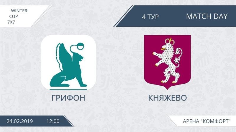 Winter Champ. Грифон - Княжево (Первый Див, тур 4)