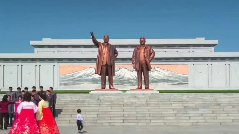 Северная Корея North Korea 조선민주주의인민공화국 Timelapse
