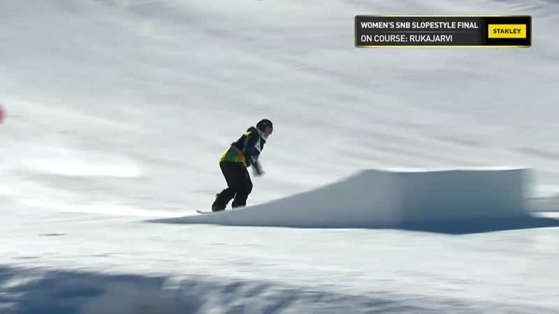Enni Rukajarvi Third Place Top Runs from Dew Tour 2018 Womens Slopestyle Finals