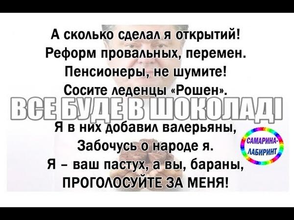 Обращение президента к своим избирателям... /Ирина Самарина-Лабиринт/