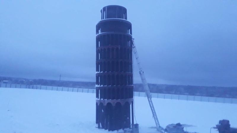 Сварщики в Вологде изготавливают знаменитые башни мира
