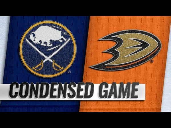 Buffalo Sabres vs Anaheim Ducks – Oct.21, 2018