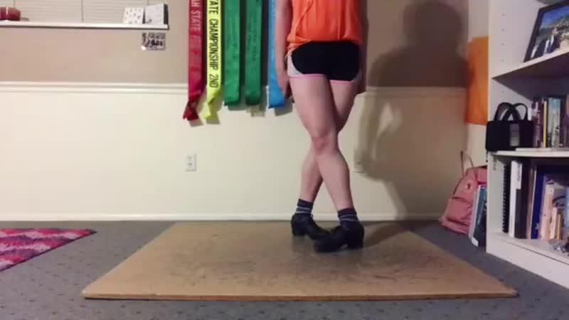 Brielle Anderson   Ирландские танцы