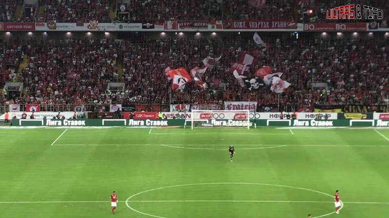 RUS: Spartak Moskwa - Anzhi Makhachkala [Fans]. 2018-08-11