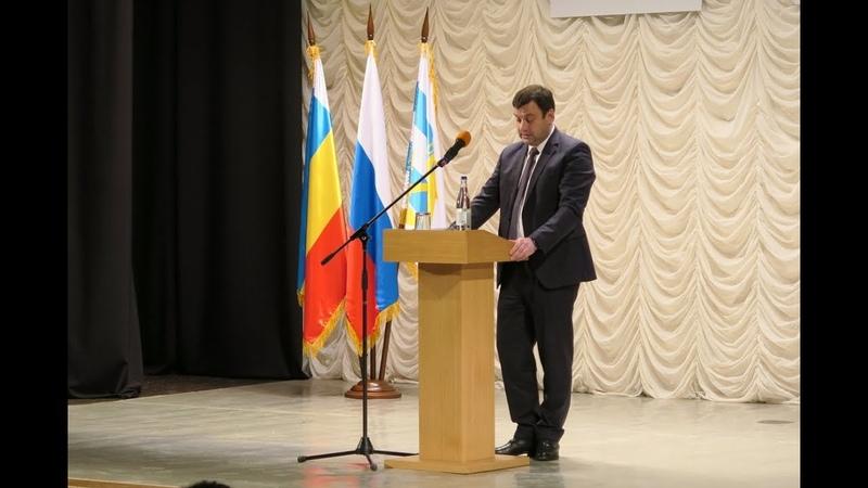 Отчёт Лисицкого А.В. - вопросы жителей Таганрога в 2018 г. (@SkifTag)