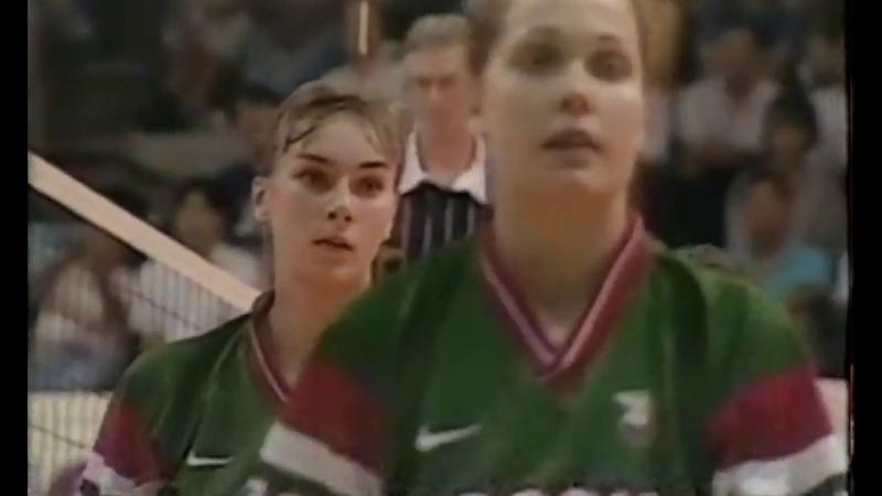 Yevgenya ARTAMONOVA vs. Korea.. '97 GP (Taipe Pool)
