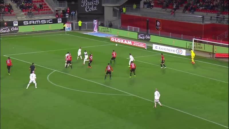 Ligue 1 Видеообзор матча Ренн 2 0 Дижон 17 й тур 08 12 2018г Сезон 2018 2019
