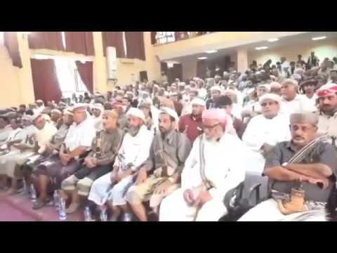 اجتماع حاشد لمشايخ وأعيان قبائل محافظة شب 16
