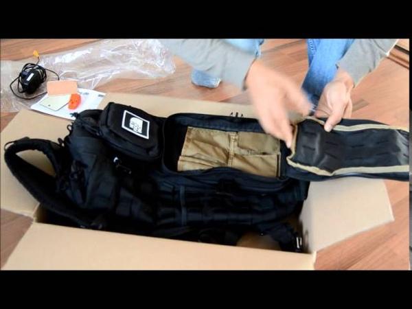 Unboxing Hazard 4 Evac plan B sling pack generation 3