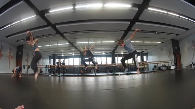 Masterclass BalletOFFFestival Chloé Beillevaire november 2016 Krakow