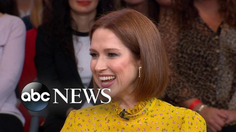 GMA Hot List Ellie Kemper says she would shop online while filming The Office