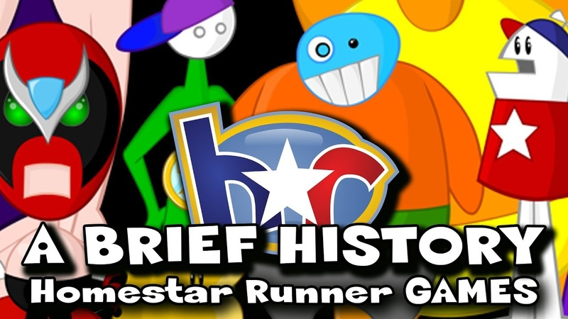 A Brief History of Homestar Runner Games - Peasants Quest and MORE!