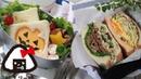 【親子弁】ハロウィンサンドと沼サン弁当~How to make todays obento【LunchBox】~196時限目Hallow