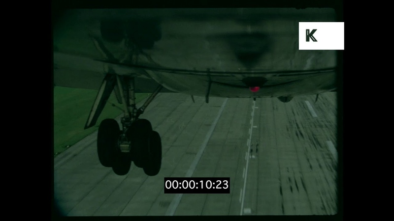 Plane Taking Off Wheels Retracting HD from 35mm