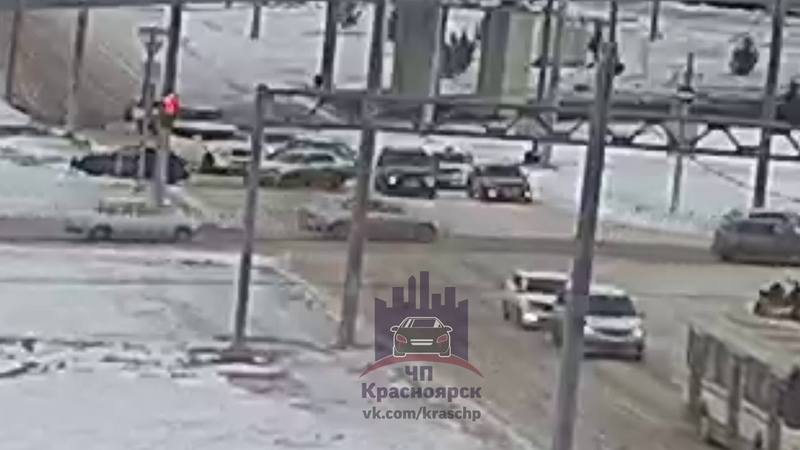 Копылова - Красной армии - Годенко 25.11.2018 ЧП Красноярск