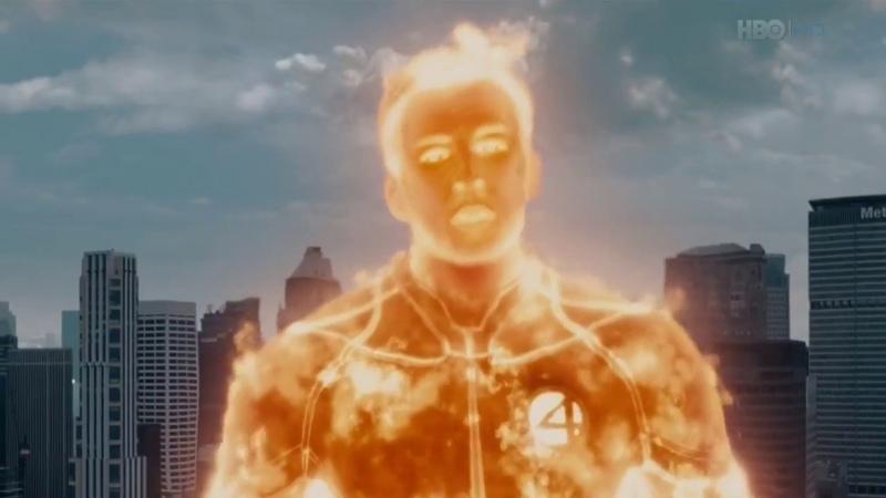 Мэри Джейн - в огне (погоня за Серебряным Сёрфером)