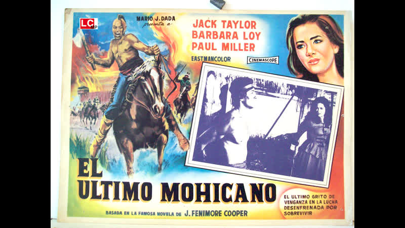 Der letzte Mohikaner El Ultimo Mohicano 1965 Español