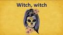 Witch, witch. Halloween poem. Стихотворение