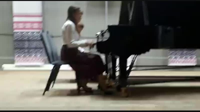 В.Биберган. Концертная полька «Нора»