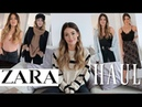 ZARA HAUL - UNBOXING AND TRY ON *GIVEAWAY*