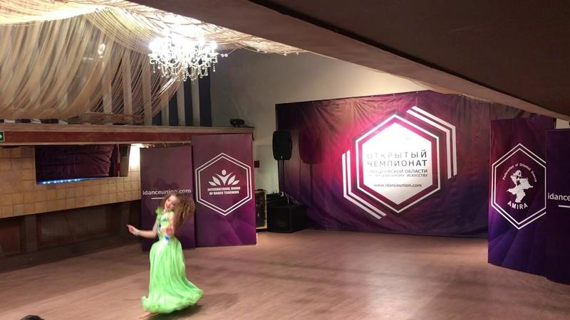 Pearlsekb Tatjana Remnjova Oriental IDance Union Championship 27 1 19