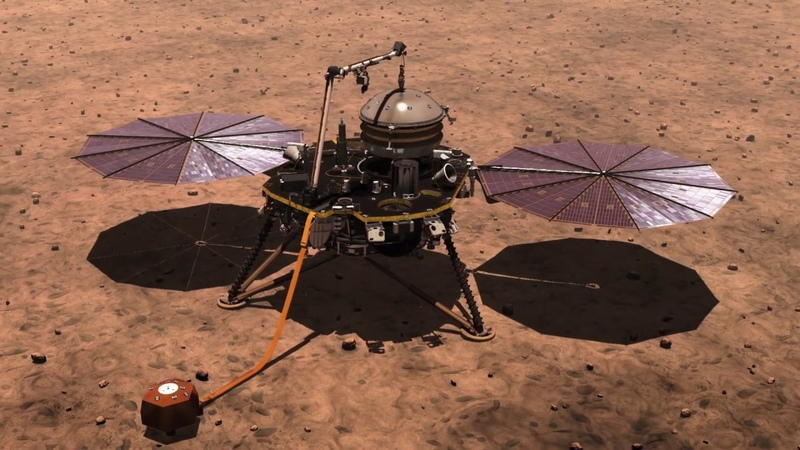 NASA's First Mission to Study the Interior of Mars Awaits Launch