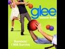 Glee - Survivor / I Will Survive Acapella