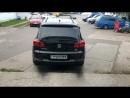 Звук выхлопа VW Tiguan 2 0 TDI прямоток