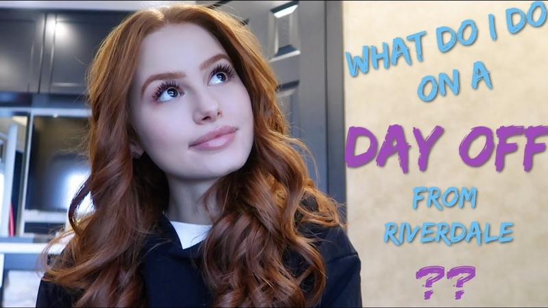 How do I spend a day off from Riverdale in Vancouver Madelaine Petsch
