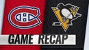 Byron's two-goal night leads Habs past Pens, 5-1