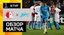 13.12.2018 Славия - Зенит - 2:0. Обзор матча Лиги Европы УЕФА