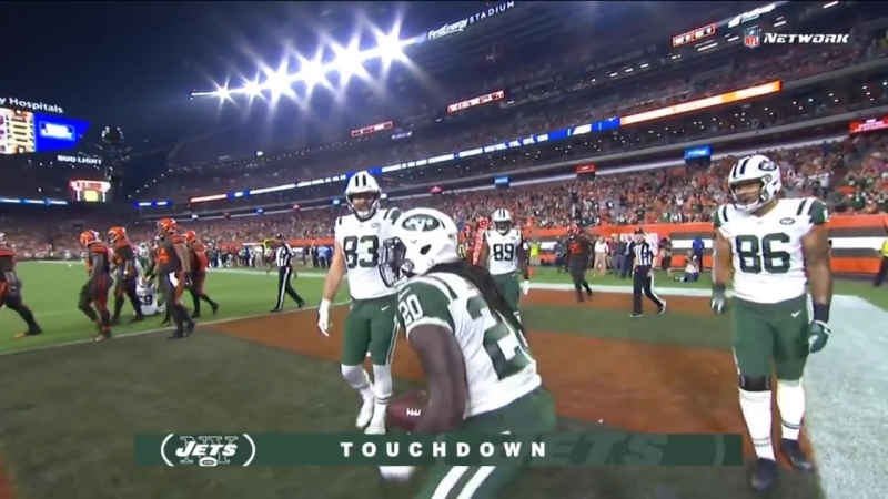 Isaiah Crowell Unsportsmanlike Conduct Penalty After Touchdown