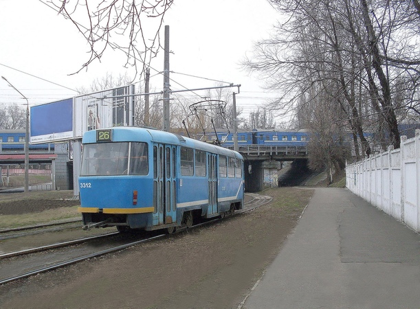 Odessa Tram - Riding on the Route No. 26 (part 1)