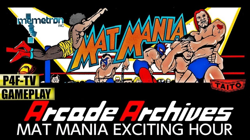 🔘 ArcadeArchives MAT MANIA EXCITING HOUR   TWA World Title 🕹 GAMEPLAY