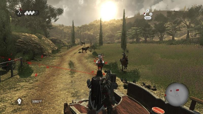 Assassin's Creed: Brotherhood - пулеметы Леонардо 19