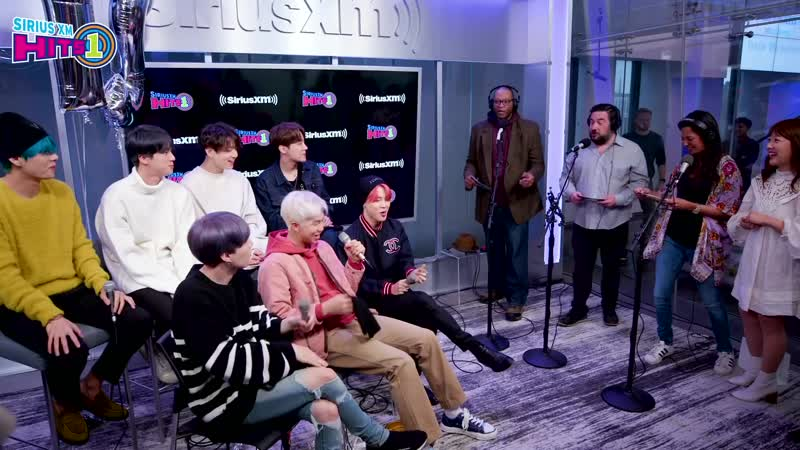 190412 SiriusXM Hits 1 BTS Talk Halsey and Collaborating on Boy With Luv
