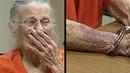 Eine 93-jährige Frau wurde zu Unrecht wegen fast nichts verhaftet!