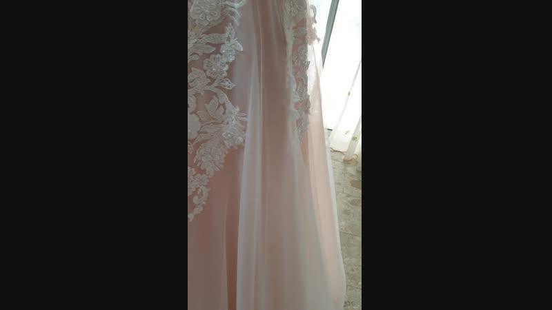 Свадебное платье. Цвет Айвори.