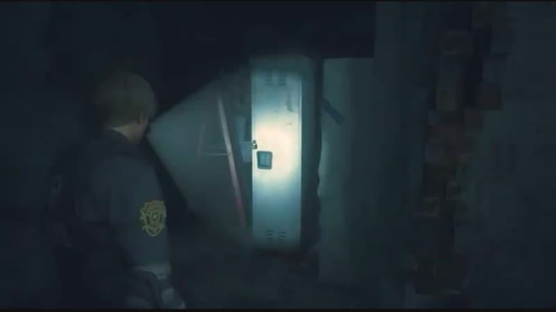Mr. Marmok Resident Evil 2 (remake) Взлом шкафчика